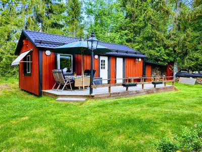 Photo for Cozy guest house on Ingarö in the Stockholm archipelago. Breakfast / bike / canoe ..