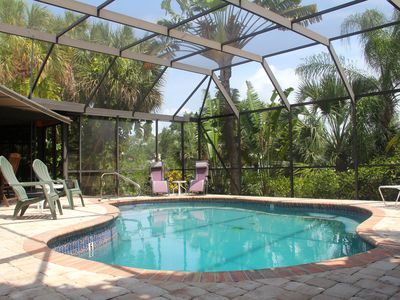Photo for Tropical Gem on Water - 4 Season Appeal, Boat & Lift, Heated Pool, Gulf Access!