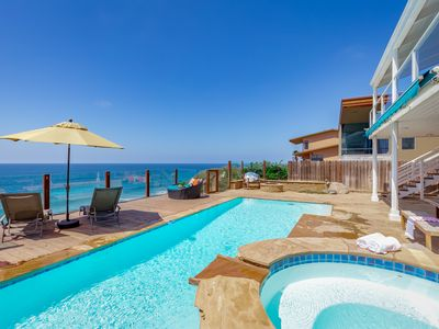Photo for Gorgeous Oceanfront Home with Private Pool E0221-0