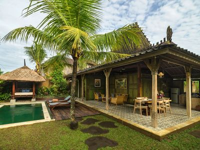 Photo for Cozy Two Bedroom Villa with Private Pool near Ubud
