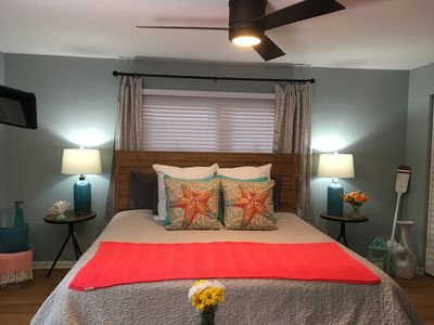Photo for Clean, fully renovated, directly on the beach, couples and family friendly !