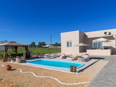 Photo for Gennadi serenity villa for 7 persons 60 m from the beach