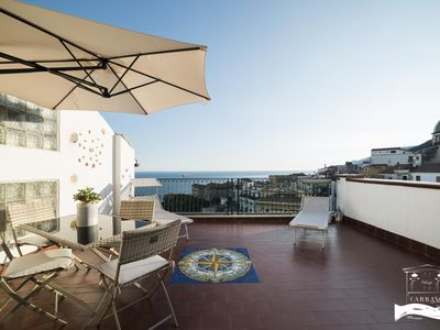 Photo for Palazzo Carrano Ravello apartment - sea view terrace