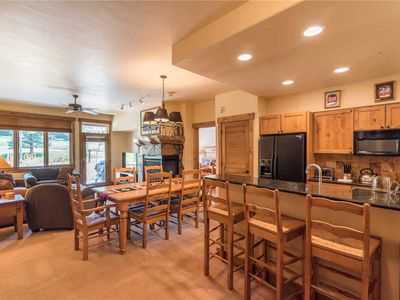 Photo for Beautiful  Mountain Condo with Patio and AC! 4 Pools! SUMMER Specials! CL3106