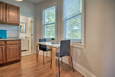 Enjoy Baltimore from this ideally located 1-bed, 1-bath apartment!