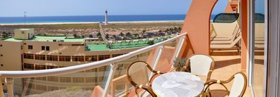 Photo for Amazing, modern, great apartment in Morro Jable with stunning ocean views & WiFi