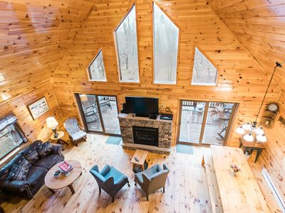 Photo for 6BR Chalet Vacation Rental in White Haven, Pennsylvania