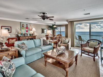 Photo for Beautiful Condo 407, Your Extravagant BEACH FRONT Heaven - Crystal Dunes