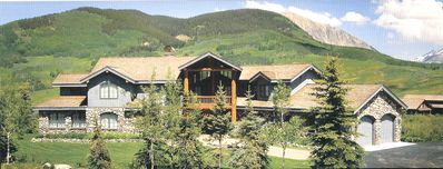 Photo for Ski-In/Ski-Out 4 BR House that sleeps 10 in Mount Crested Butte!