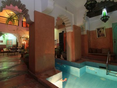 Photo for Riad Nakhil - Splendid 7 bedrooms Riad in the heart of Marrakech souks