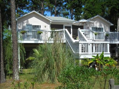 Photo for Santa Rosa Beach, Best Deal Around. Lg Private POOL only 1 1/2 blocks to beach