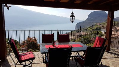 Photo for Atmospheric romantic stone holiday house with a magnificent view