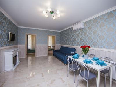 Photo for 2 BEDROOM LUXURY APARTMENT SLEEPS 6 PEOPLE IN THE CENTER OF THE SAINT PETERSBURG