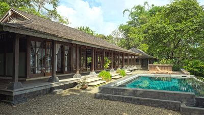 Photo for Epic 200 Yr Old Bali Home 5 BD/3.5B 20 Acre Estate
