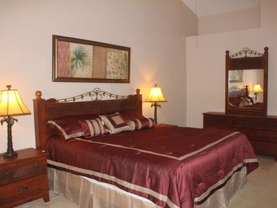 Photo for Gated lakefront Villa, 5 Mi To Disney,free Wifi/cable/long dist call