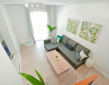 Photo for Duplex Loft Malaga with Free Rental Bikes & Optional Private Parking