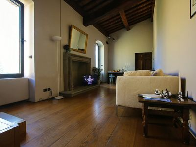 Photo for Florence View Luxury Apartment just steps from Ponte Vecchio