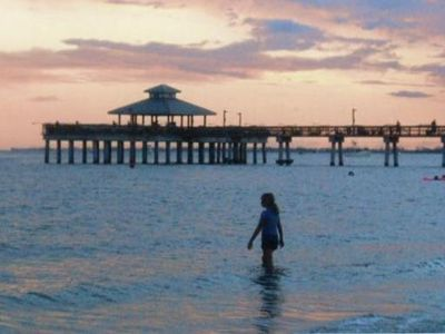 Just 4 Miles North is the Spectacular Ft. Myers Pier.  Catch a Sunset Here!