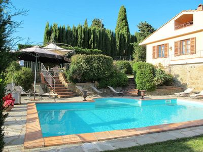 Photo for Vacation home Villa Belvedere  in Greve in Chianti, Florence and surroundings - 10 persons, 4 bedrooms