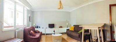 Photo for Studio CENTER OF BIARRITZ 300M from  BEACH + PARKING +WIFI (4 people -2 bed)