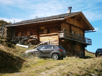 Photo for Sandalm Almhütte 2. 100 m in the Eineth valley at the end of the valley - single inlay