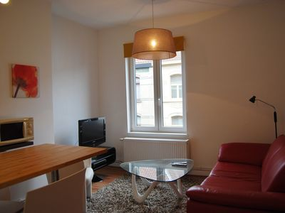 Photo for Ghent furnished apartment with garage.
