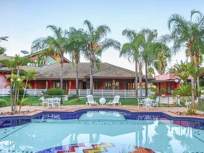 Photo for In front of the Rio Grande, with swimming pool with 4 depths (adult and child)