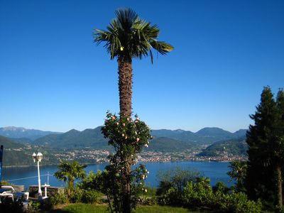 Photo for Apartment for 2 Pers. with beautiful lake views, private pool u. large garden