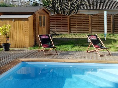Photo for House with pool near Bordeaux