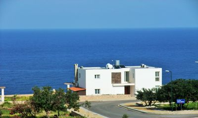 Photo for Family 5 Bedroom Villa, Private Pool, cliff edge location overlooking the Sea