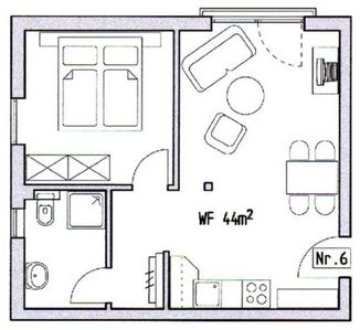 Photo for **** Apartment 6 - *** Holiday House MerceDes