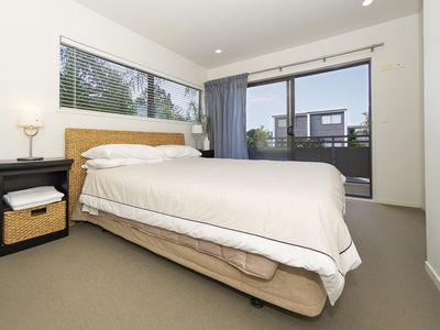 Photo for Brophies Beach Apartment has 2 queen bedrooms and a large balcony upstairs