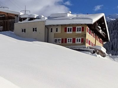Photo for Excellent holiday home for 17 people near the famous St. Anton am Arlberg,