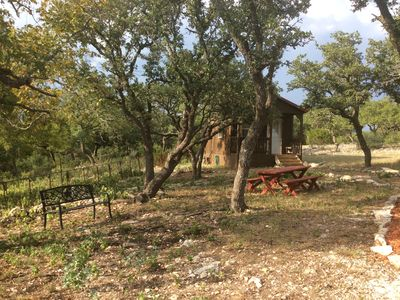 Photo for Quiet Cabin in the Country, 15 minutes from Fredericksburg, Pet Friendly