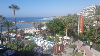 Photo for Studio in Puerto Banus, Marbella for Holidays or Business. POOL-PARKING-GARDE