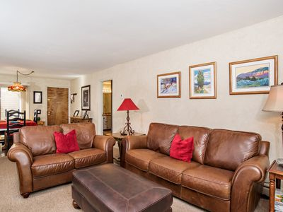 Photo for Fantastic 2 Bedroom Condo on Golf Course, Includes 2 Fishing Badges! Near Skiing