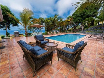 Photo for Two-villa estate overlooking Charlotte Amalie!