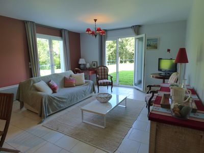 Photo for Oihan: Nice T2, 50 m² located in the countryside between Ascain and St Jean de Luz