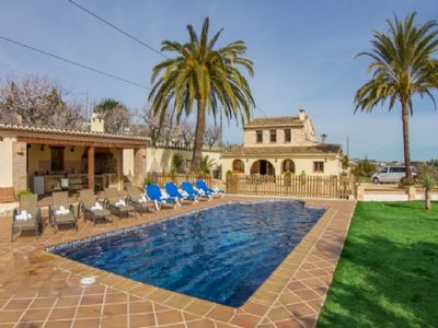 Photo for Secure villa with pool in Benissa, Costa Blanca