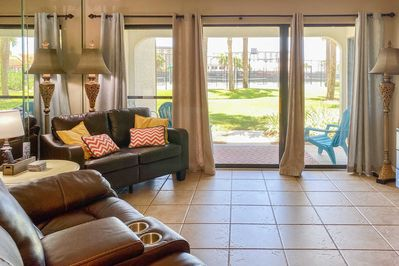 Lounge in style in this 2-bedroom, 2-bath condo.