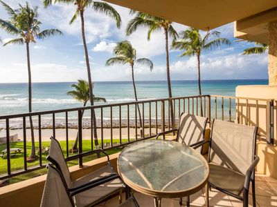 Photo for Epic Pacific View+Luxe Upgrades! Lanai Off Master, WiFi, Chic Kitchen–Paki Maui 306