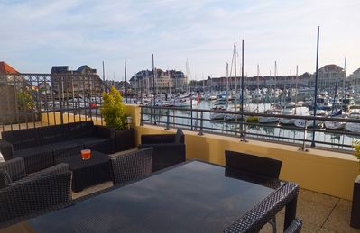 Photo for Loft standing Cabourg - Dives on the port for 6 people
