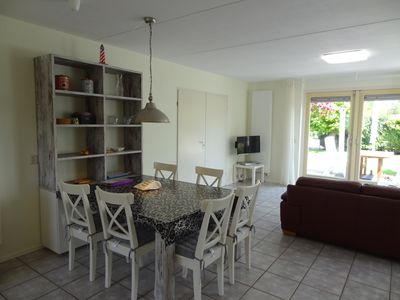 Photo for Beautiful 6 person house, right on the dike of the Oosterschelde.