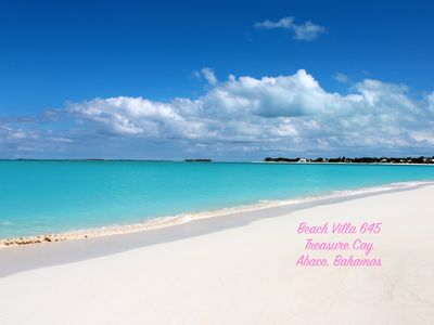 Photo for 2BR Villa Vacation Rental in Treasure Cay, Abaco,  Bahamas