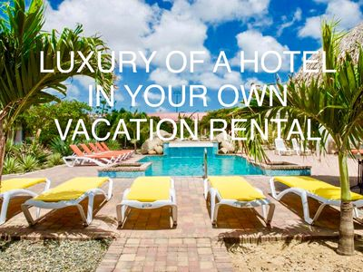 """Photo for Aruba """"Camacuri Residence"""" holiday residence with hotel service"""