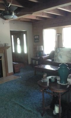 Photo for conveniently located cedr log home, close to High Point, Grnsboro, Winston Salem