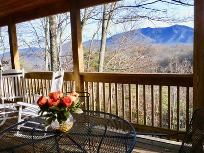 Fabulous Mt. Leconte Views, Hot Tub & Movie Room