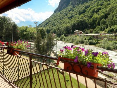 Photo for 1BR Apartment Vacation Rental in Fontainemore, Valle d'Aosta