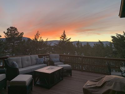 Photo for Serenity Villa - A 3 Bedroom Townhome with Mountain Views & Tree Lined Privacy