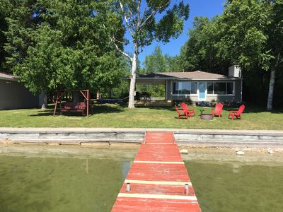 Photo for Clean, Updated Cottage With 100 Feet On Grand Lake